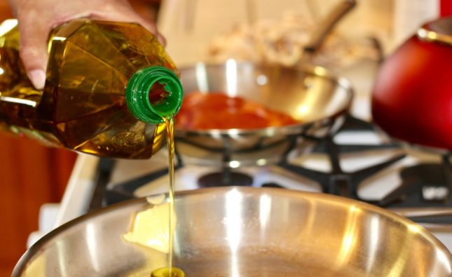 Using Olive Oil To Start A Fire ~ You Won't Belive It